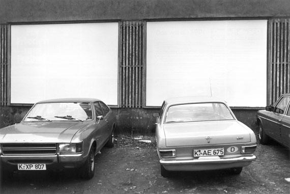 Max Regenberg: Ohne Titel, 1979, Köln, DE© Max Regenberg, Courtesy Galerie Thomas Zander, 2016