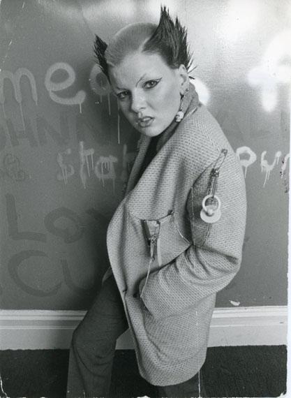 Soo Catwoman, St James Apartment, 1976 © Ray Stevenson, Courtesy Rex Shutterstock