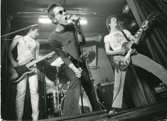 Sex Pistols, El Paradise Club, London, 1976 © Ray Stevenson, Courtesy Rex Shutterstock