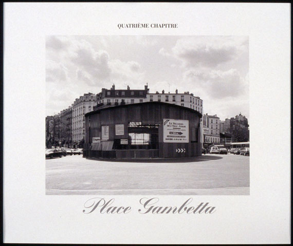 Christian Wachter: Chapter Four, Place de l'EuropeGelatine silver print on Baryte paper, embossed stamp, 50 x 60 cm