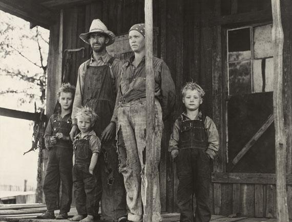 John Vachon: An Ozark mountain farmer and family, Missouri. May, 1940.