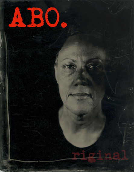 Brenda L Croft: ABO.riginal, 2016, from from the series blood/type. Pigment print, 110 x 90.5cm