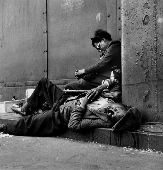 Homeless Couple, Harlem, New York, 1948© Gordon Parks / The Gordon Parks Foundation