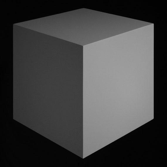 Edward MapplethorpeThe Cube No. 1198, 2016Archival pigment print55.88 x 55.88 cm© Edward Mapplethorpe