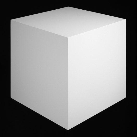 Edward MapplethorpeThe Cube No. 1200, 2016Archival pigment print55.88 x 55.88 cm© Edward Mapplethorpe