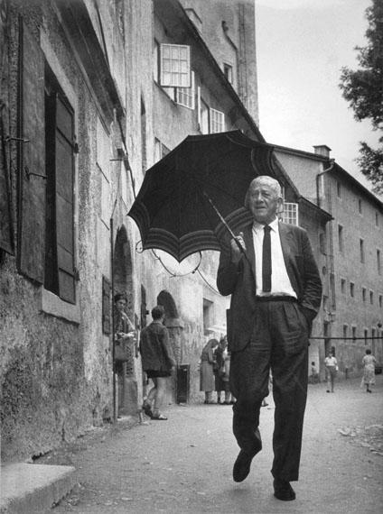 Gerti Deutsch: Oskar Kokoschka, Salzburg 1958, Gerti Deutsch © FOTOHOF archiv und gettyimages
