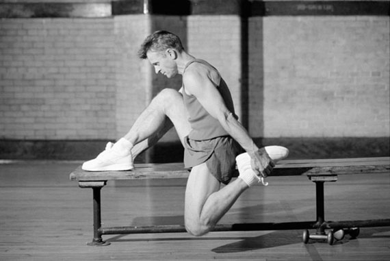 Robert Whitman. Mikhail Baryshnikov. Exercise series, late 1990s© Robert Whitman, courtesy The Lumiere Brothers Center for Photography, Moscow