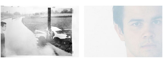 Barbara Probst: Exposure #117.03: Munich, Nederlingerstrasse 68, 08.03.15, 5:54 p.m., 2015Ultrachrome ink on cotton paper, 2 parts: 71 x 107 cm/ 28 x 42 inches, Edition of 5