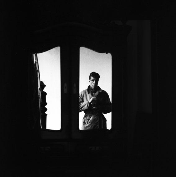 Lothar Wolleh: Selbstportrait, 1961