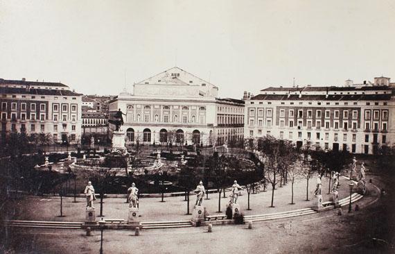 Charles Clifford, lot, 8, Madrid, plaza de Oriente, 1853