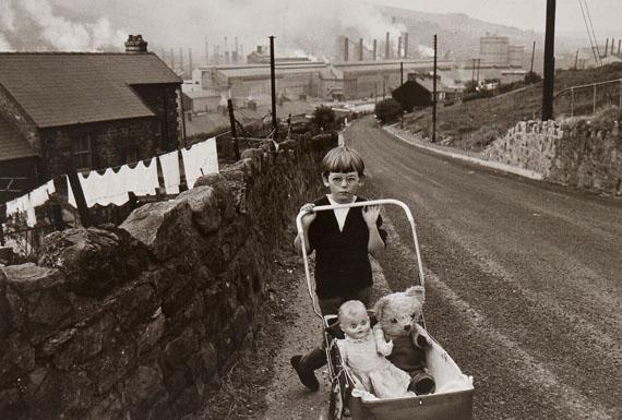 57 Bruce Davidson (b.1933)Welsh Child with Stroller, 1965Gelatin silver print, printed 197017 x 25.2cm (6 ⅞ x 9 ⅞in)£3,000 - £5,000