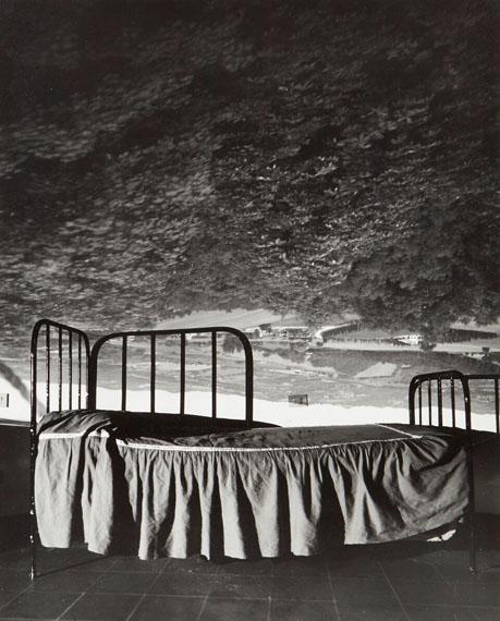 227 Abelardo Morell (b.1948)Camera Obscura Image of Umbrian Landscape over Bed, 2000Gelatin silver print56.8 x 45.7 cm (22 ⅜ x 17 ⅞in.)£1,000 - £1,500