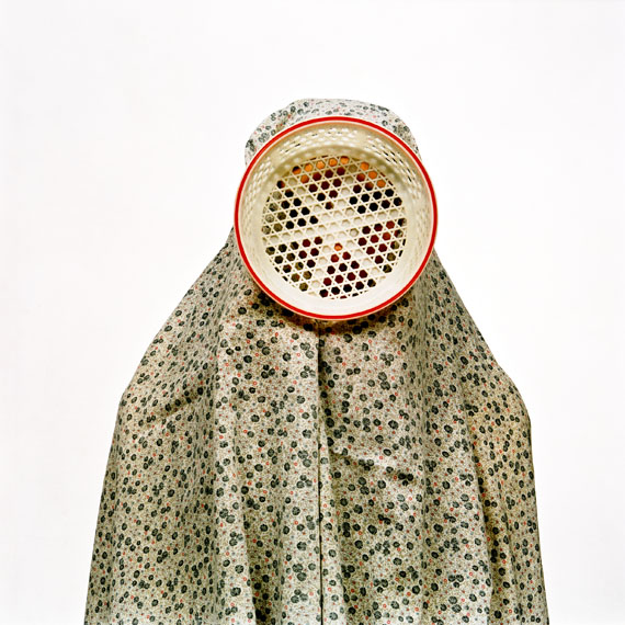 "Shadi Ghadirian: from the series ""Nil Nil"" (2008) No. 9, 76 x 114 cm"