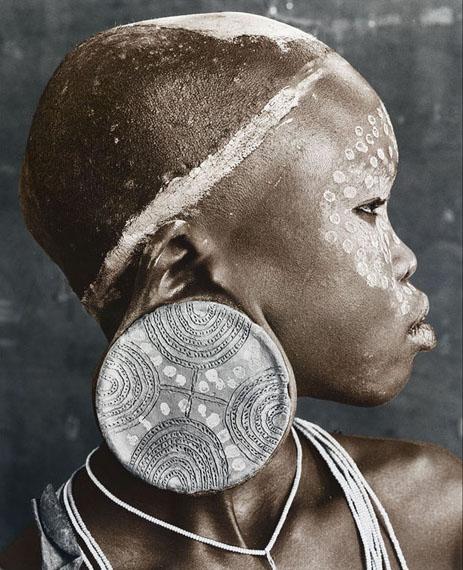 Jan C. SchlegelNale (18)Sure Tribe, Ethiopia 2010Edition 3/10Silver Gelatin Print, toned