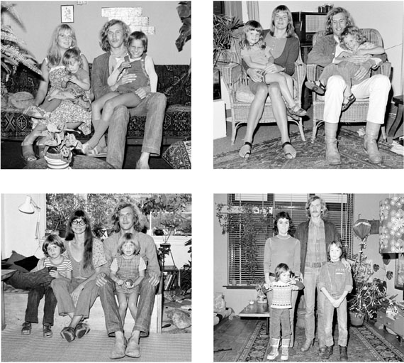 Hans Eijkelboom: Mit meiner Familie / With my family, 1973