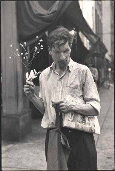 © Louis FaurerEddie, NYC, 1946 Vintage Gelatin silver print20.00 x 31.00 cmGalerie Julian Sander