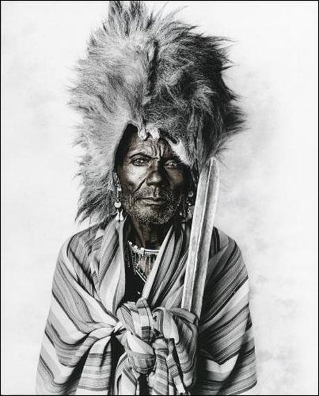 Jan C SchlegelLeboo, Massai, KenyaSilver Gelatin Print