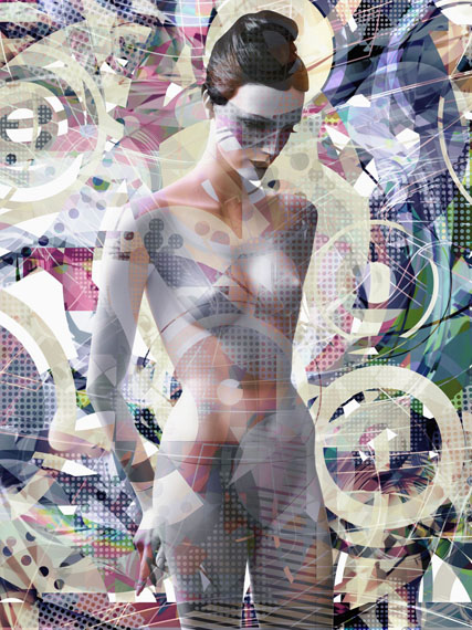 Valerie Belin, Saffron, 2015Courtesy Edwynn Houk Gallery, New York & Zürich