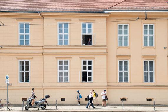 """Richard von Weizsäcker / Das Prinzip Apfelbaum © Bettina Flitner / Initiative """"Mein Erbe tut Gutes. Das Prinzip Apfelbaum"""""""