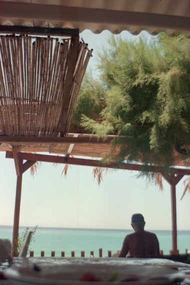 © Ebba Dangschat: SUR 01, Kreta-Seaside, 2002, 50 x 70 cm