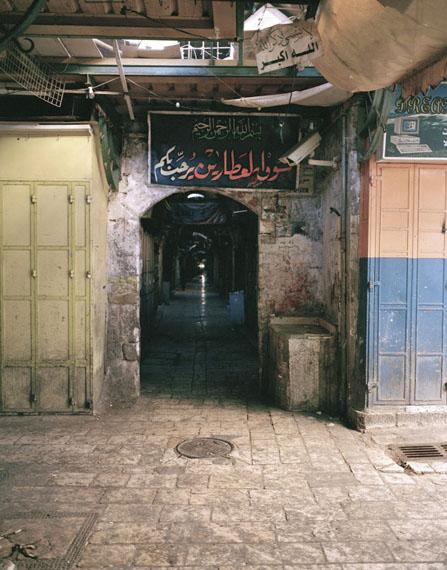 """Andréas Lang: """"Welcome"""", Jerusalem 2007"""