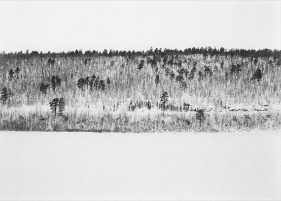 © Jens Knigge 'Tenojoki', Platin-Palladium-Print auf Arches Papier 2015 / Courtesy Johanna Breede PHOTOKUNST
