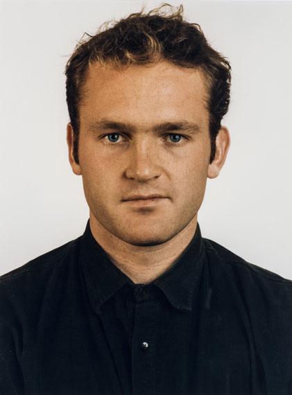 lot 80Thomas Ruf (1958) Portrait, M. Vossing, 1991 39,5 × 29,5 cmESTIMATION : 2 500 / 3 000 €