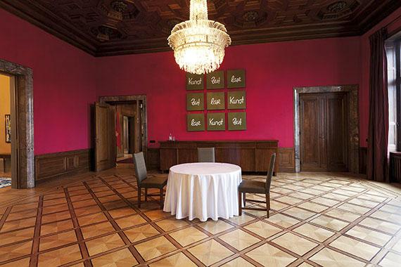 Speisezimmer, Schweizer Botschaft Berlin © Anja Nitz