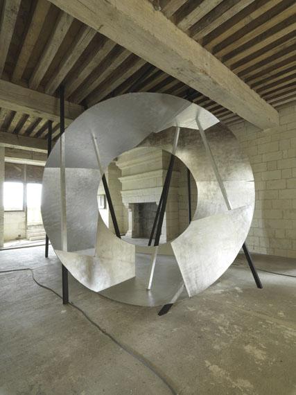 © Georges Rousse: CHAMBORD 2011, Lambdadruck vom Ektachrome auf mattem Papier, 160 x 210 cm