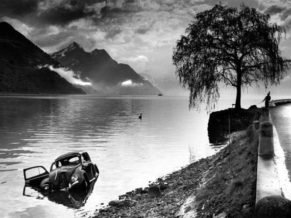 Arnold Odermatt: Buochs, 1965 © Urs Odermatt/Windisch