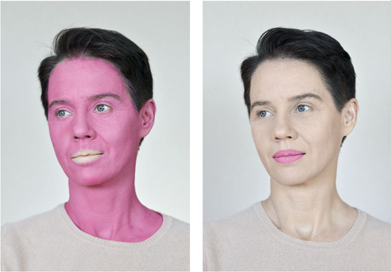 Aneta Grzeszykowska: Negative Make Up (Pink), 2016 © Aneta Grzeszykowska. Courtesy of the artist and Raster Gallery in Warsaw