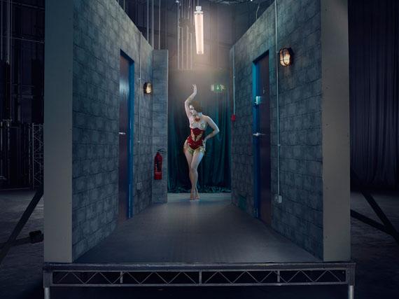 Eliza De Lite, Burlesque Dancer, 2016from the series The ACTC-Type Print: 40 x 30 inch edition of 1054 x 40 inch edition of 7© Julia Fullerton-Batten