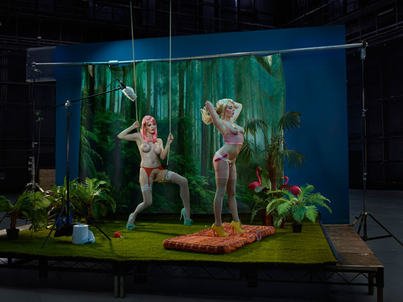 Bentley and Jade, Pornstars, 2016from the series The ACTC-Type Print: 40 x 30 inch edition of 1054 x 40 inch edition of 7© Julia Fullerton-Batten