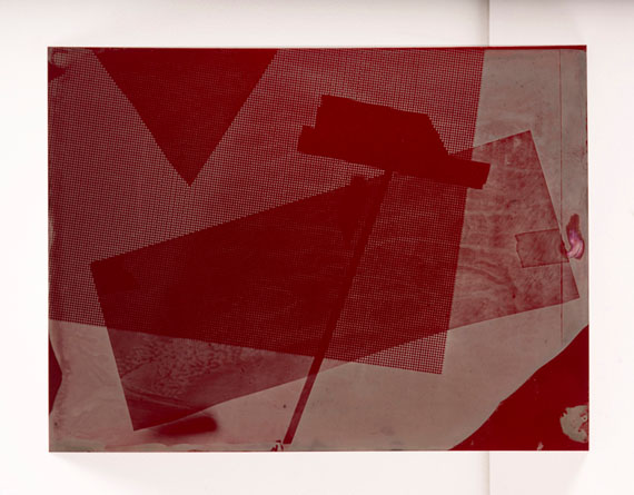 Danica Chappell, Red #5, 2014-2015from Traversing Edges and CornersTintype, 28 x 38cmUnique