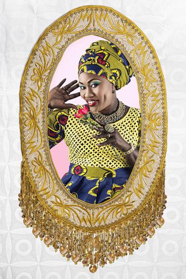 Joana Choumali, Adorn #1, Dakar, Senegal, 2016. Diasec - Limited edition, 60x80cm.