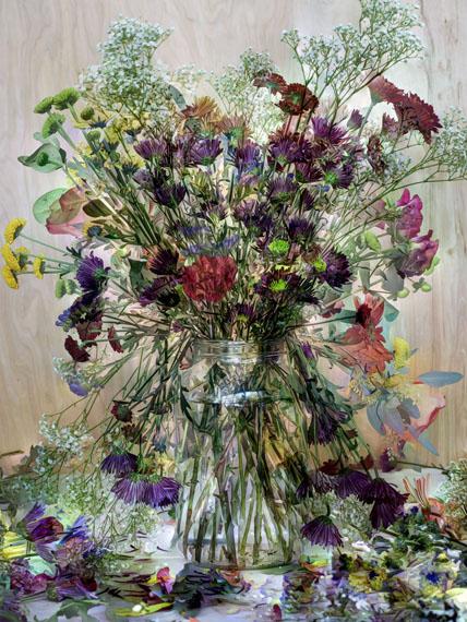 Flowers for Lisa #2, 2015©Abelardo Morell/Courtesy of Edwynn Houk Gallery, New York