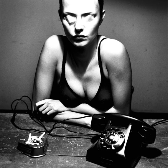 Helmut NewtonThe Woman on Level 4, I, Monte Carlo, 2000© Helmut Newton Estate