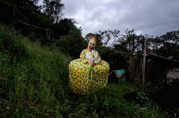 Azucena, San Cristóbal de las Casas, Chiapas, México, from the series Guardians of memory, 2014 © Diego Moreno