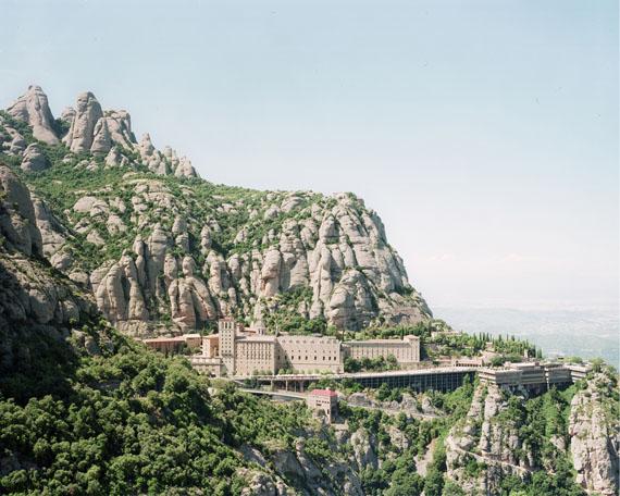 Philippe Braquenier: Palimpsest / Montserrat Monastery – Montserrat, Spain – 01/08/02016100 x 110 cm / framed, Edition of 5 + 1 AP