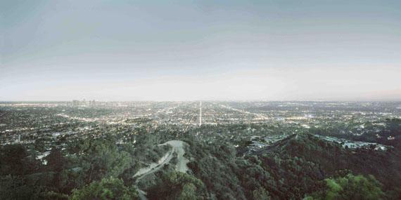 Francesco Jodice: Los Angeles #002, 2014, aus der Serie: Sunset Boulevard
