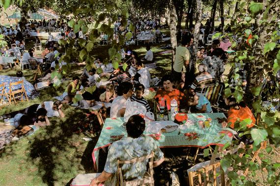 Spain, Santiago de Compostela, Galicia, 1988 © Harry Gruyaert / Magnum Photos, courtesy Michael Hoppen Gallery