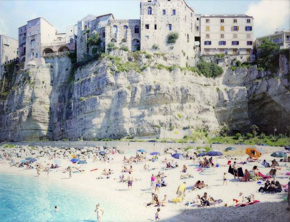 Lot 108Massimo Vitali (born 1944)Tropea Shadow, Calabria, Italy, 2015Chromogenic print$40,000-60,000