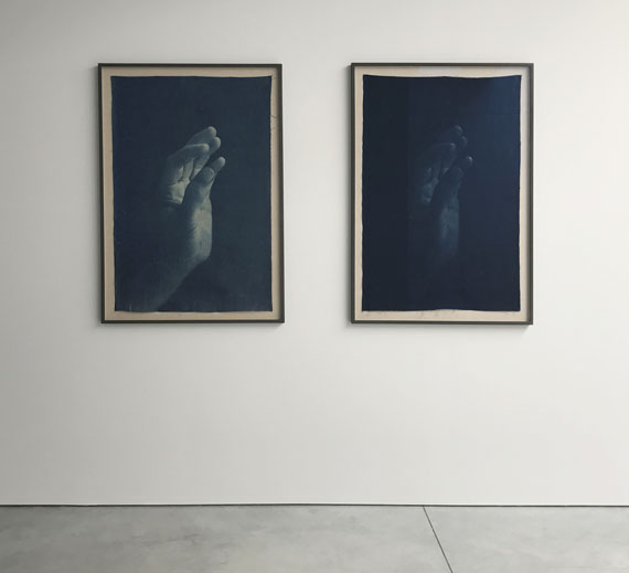 Adam Jeppesen Installation view with