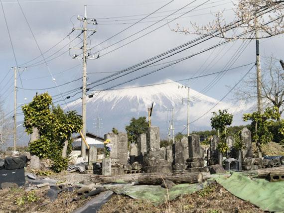 Raoul Ries: Thirty-Six Views of Mount Fuji 35 (Minokuchi, Kamijou), 2015-2016