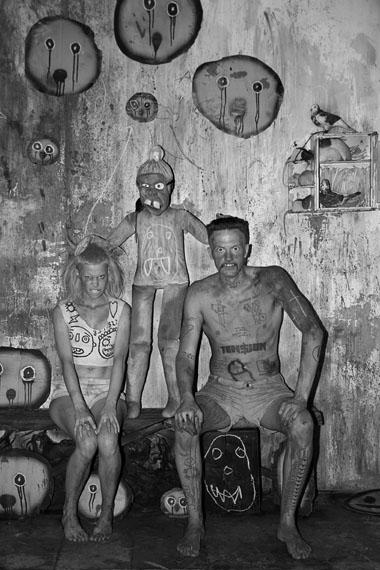 Roger Ballen: Die Antwoord, Spooky Eyes, 2012
