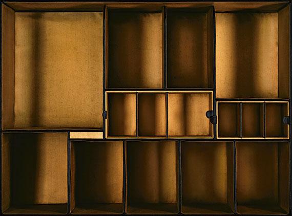 CASE 82, 2010, Daguerreotypien, ca. 1870, Besitz Friedrich Herzog von Württemberg, 125 x 169 cm, Edition von 6, C-Print, Aluminium, Diasec, entspiegeltes Weissglas, © Sinje Dillenkofer