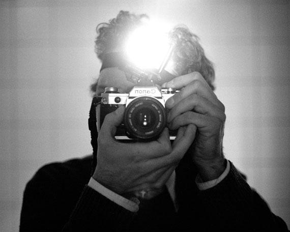 Peter Miller: Selfportrait (with Headlamp), 2009, © Peter Miller