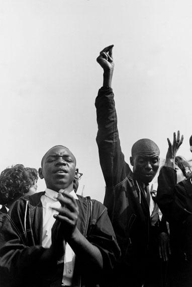 Danny Lyon: The March on Washington, August 28, 1963 © Danny Lyon / MagnumPhotos. Courtesy Gavin Brown's Enterprise