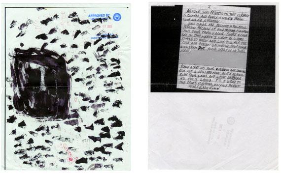 From Letters to Omar, inkjet prints, 2010 © Edmund Clark