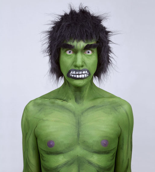 Juan Pablo Echeverrí, Hulk, from the Supersonas series, 2011©Courtesy of the artist